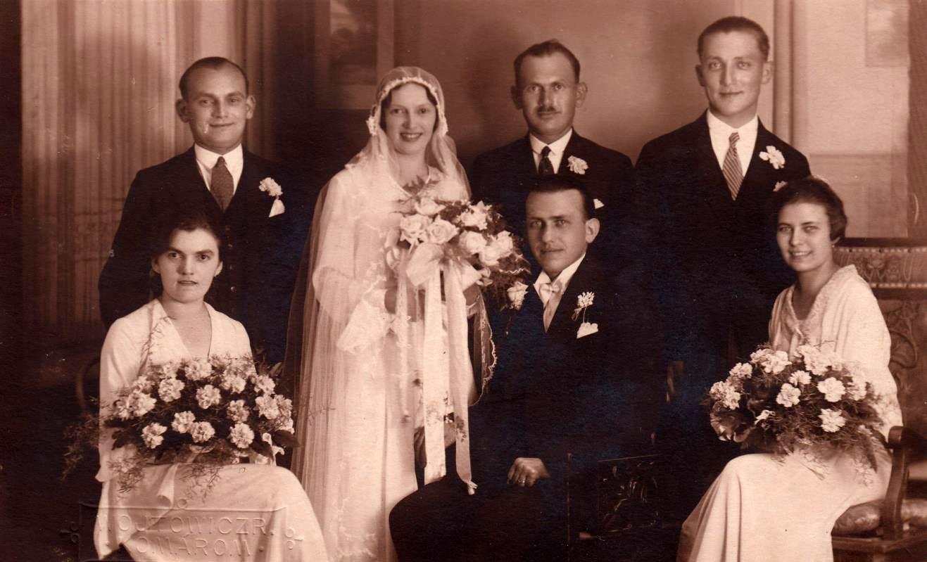 Szüleim esküvője