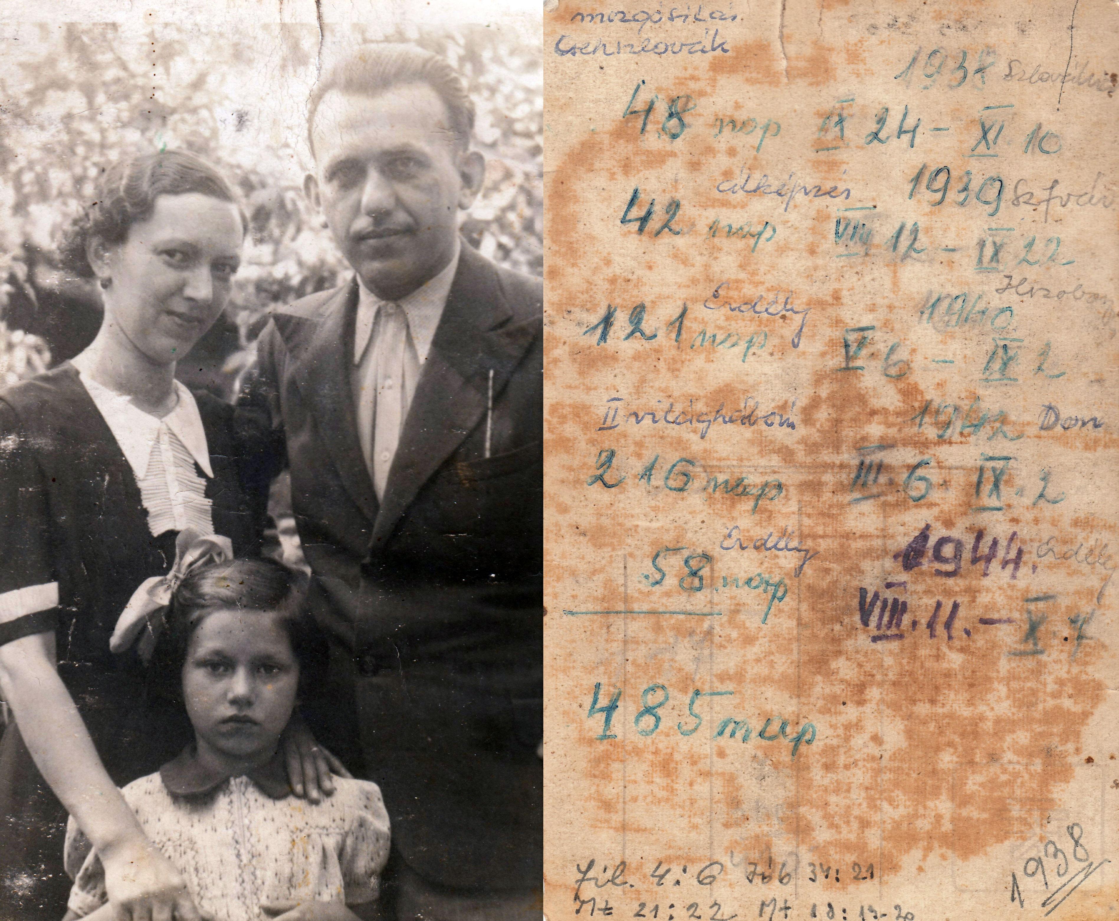 Szüleim és én