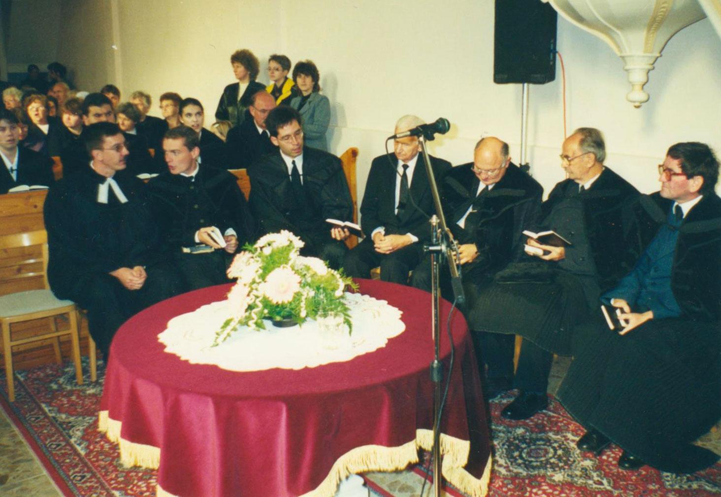 Templomszentelés Csallóközaranyoson