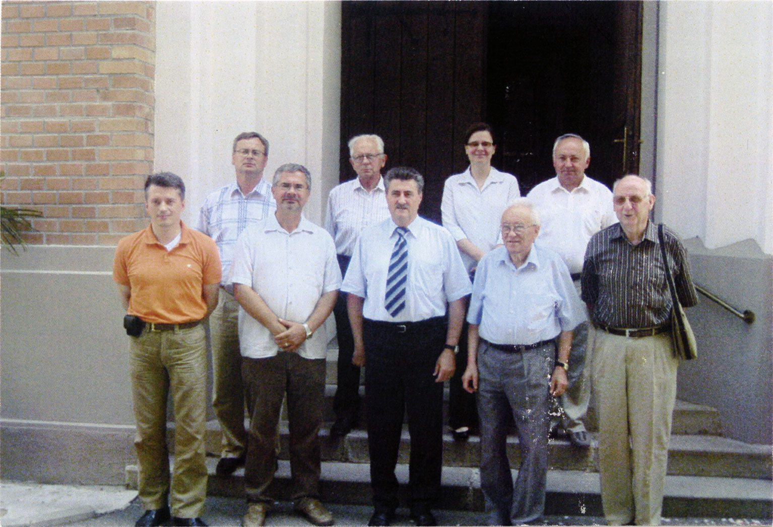 Szlovéniai lelkészek között