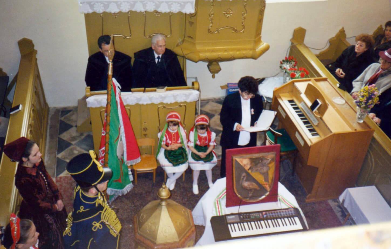 Hetényi falunap – istentisztelet a templomban