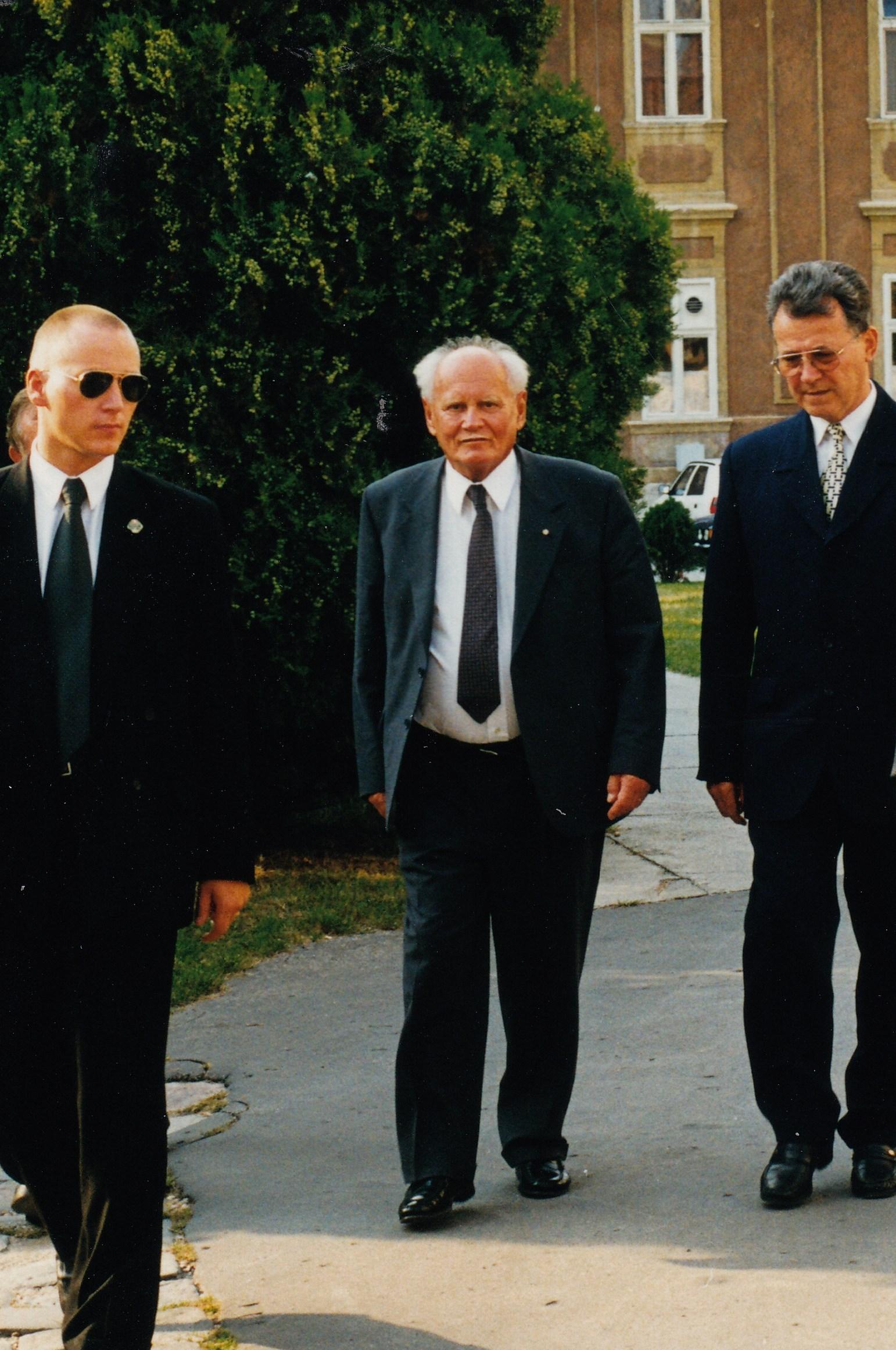 Göncz Árpáddal